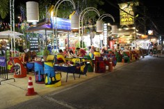 Colourful streets in Fisherman's Village