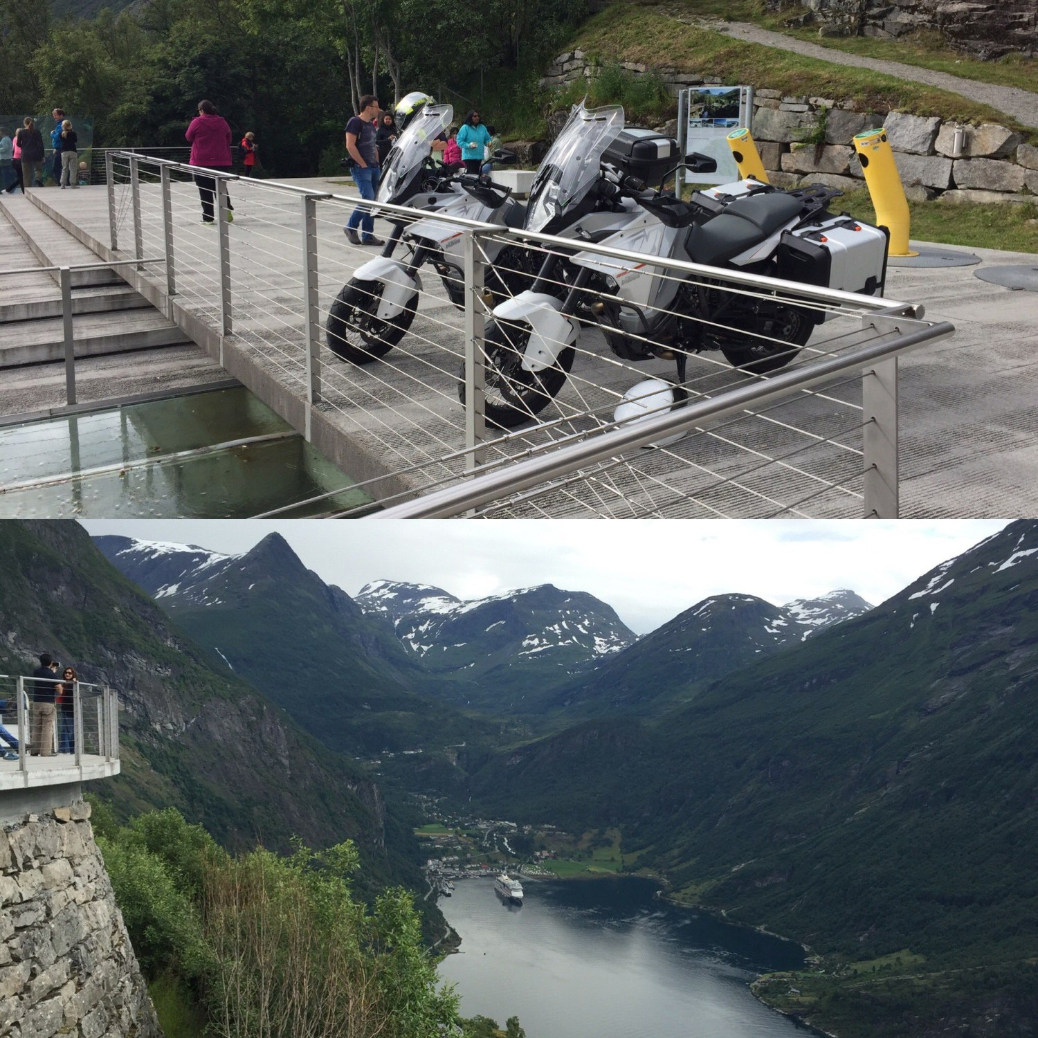 KTM 1290 Super Adventure i Ørnesvingen