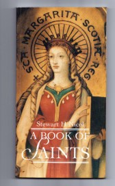 cover is a suitably Scottish saint. St. Margaret of Scotland .