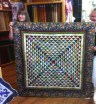 """Elinor Martin-Law created """"Friendship Triangles"""" By Laundry Basket Quilts by author Edyta Sitlar."""