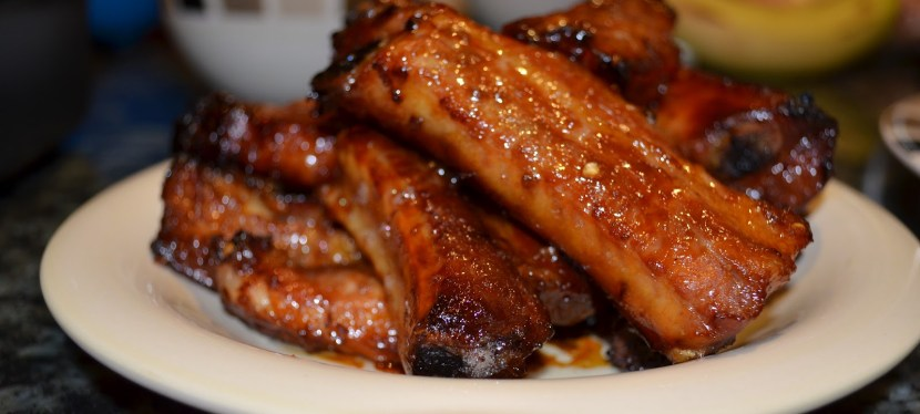 Asian Style Sticky Pork Spare Ribs