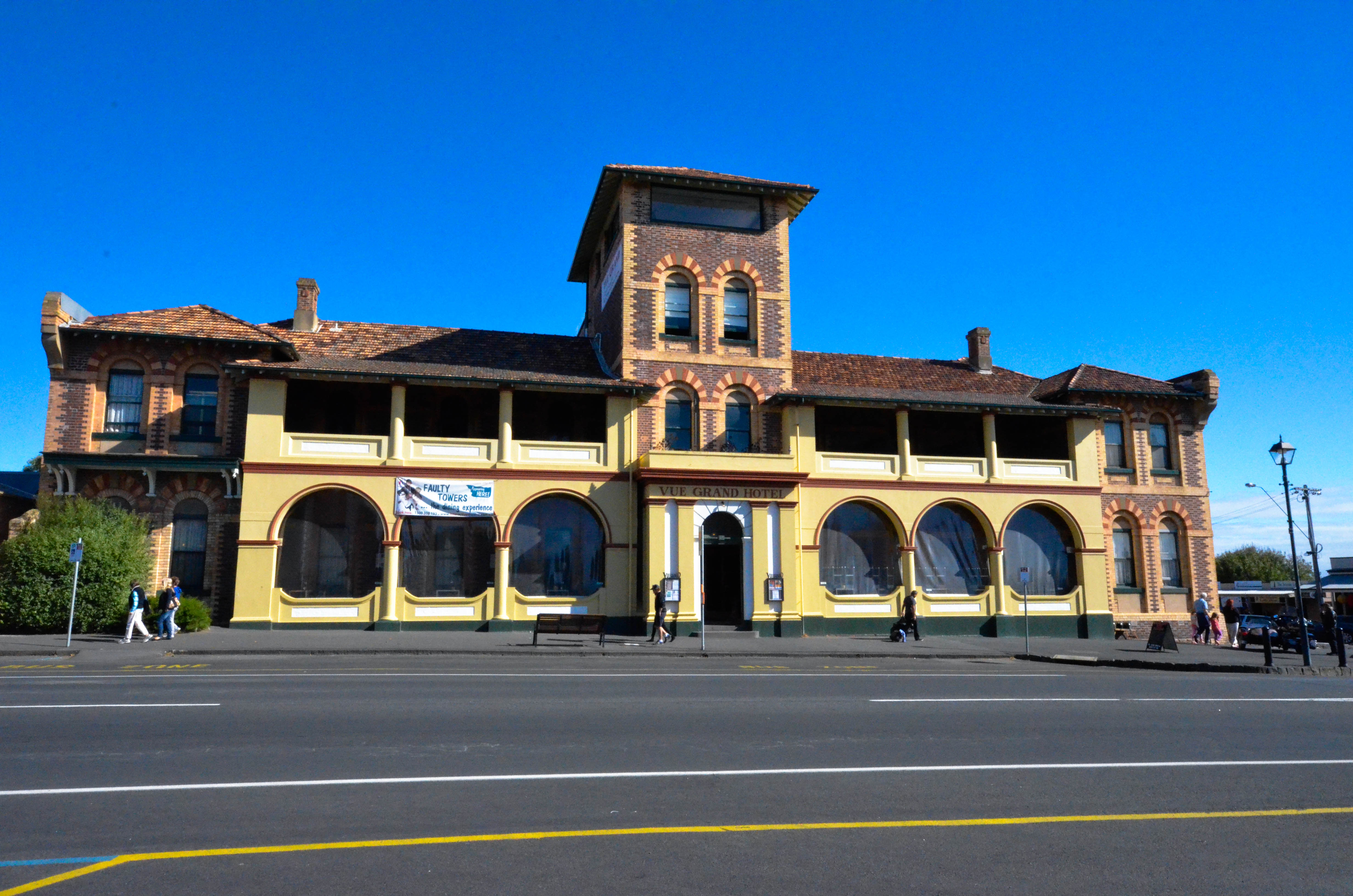 At the town centre in Queenscliff-the Vue Grand Hotel