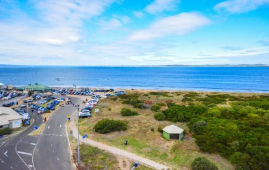 Queenscliff-View from 360Q observation deck at the harbour