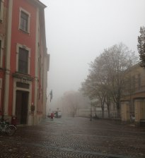 Yes - very foggy!
