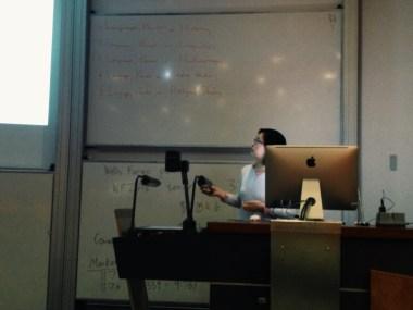 Me presenting :)