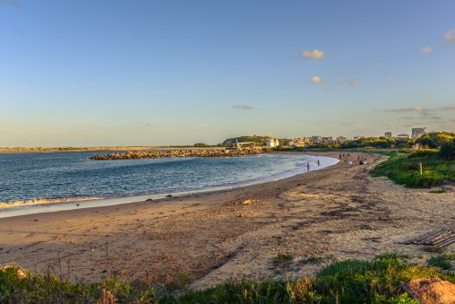 Newcastle Stockton Beach