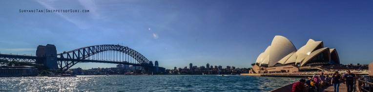 Harbour Bridge and Sydney Opera House