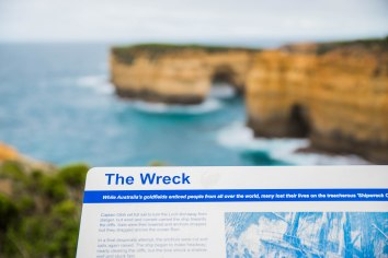 The Wreck at Loch Ard Gorge