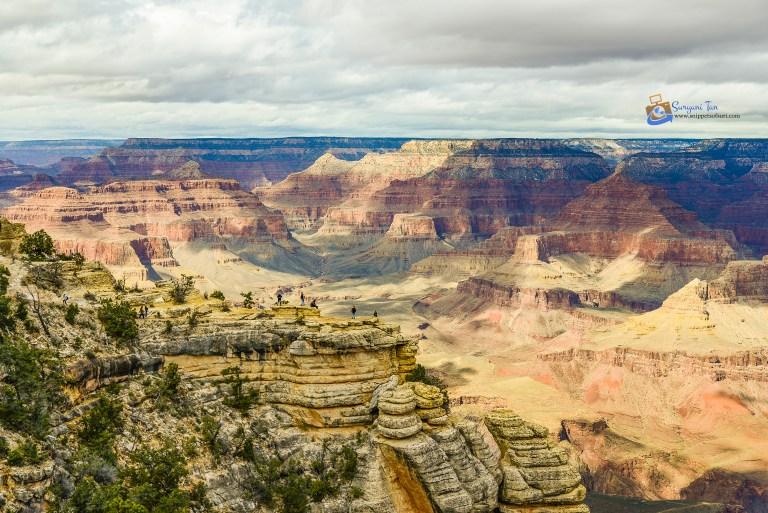 USA National Parks Grand Canyon South Rim