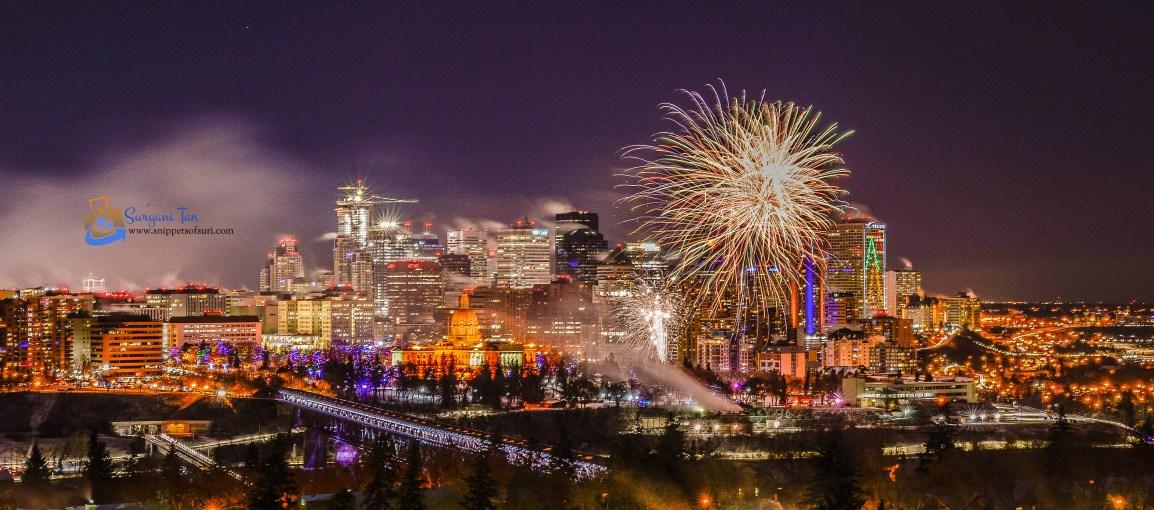 NYE Fireworks_Edmonton_Canada_3
