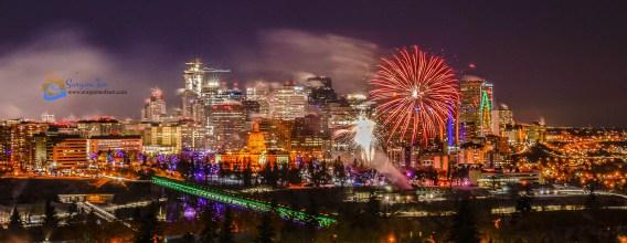 NYE Fireworks_Edmonton_Canada_4