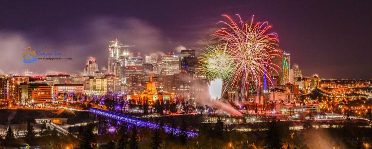 NYE Fireworks_Edmonton_Canada_5