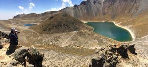 Hiking in Nevado de Toluca Mexico
