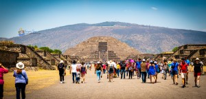 Teotihuacan Pyramid of the Moon Avenue of the Dead Mexico