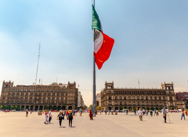 Zócalo Downtown Mexico City