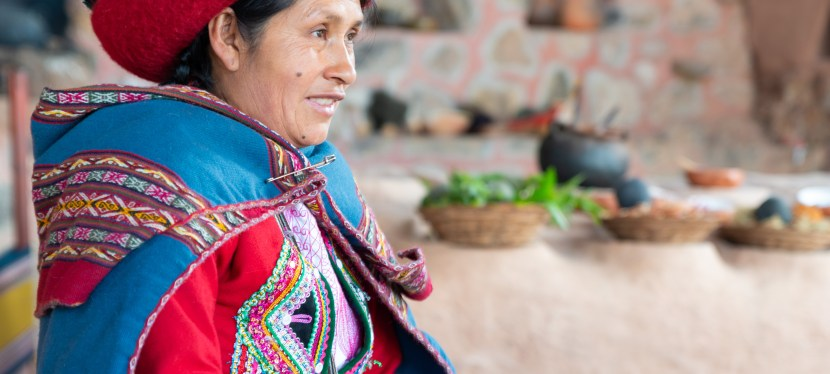 The Sacred Valley of the Incas: Chinchero