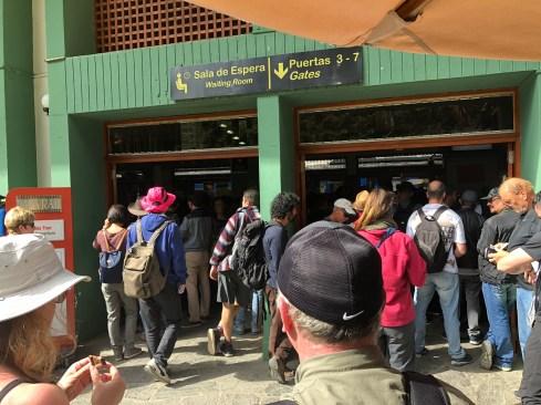 Machu Picchu Pueblo or Aguas Calientes Train Station