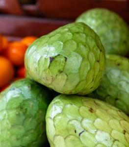 San Isidro Lima Peru Market Fruits Cherimoya