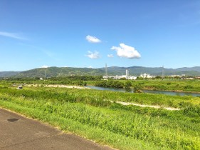 View along the ride from Kyoto to Nara