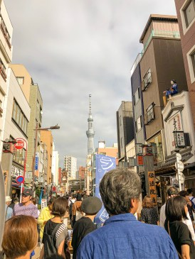 After spending four days in the countryside, Tokyo became overwhelming! Too crowded for my liking.