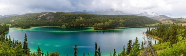 North America; Canada; Yukon Territory; Yukon; Emerald Lake; Lakes; Landscape; Nature; Nikon D800