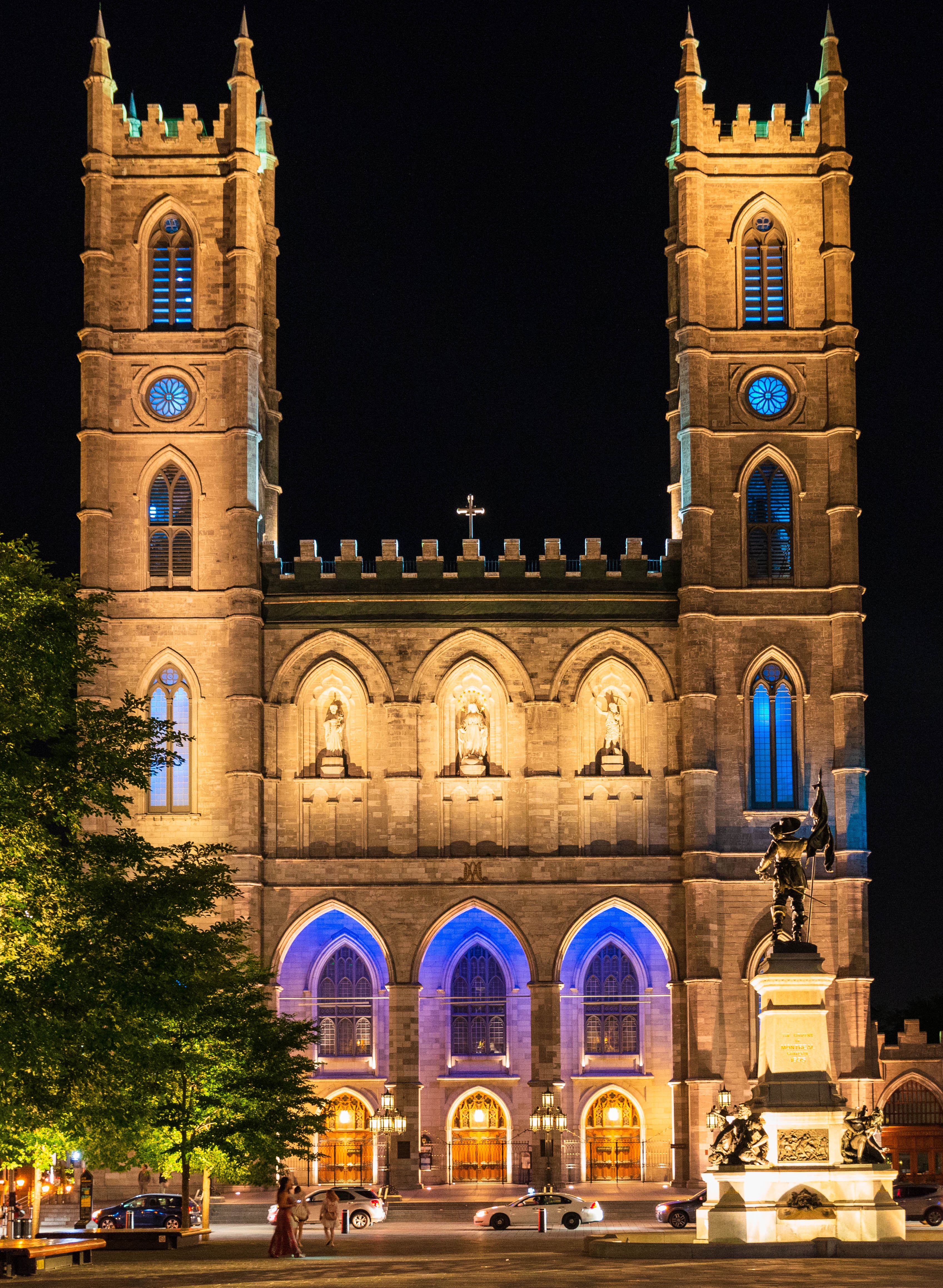 North America Canada Québec Montréal Church Historical Urban Architect Nikon D800