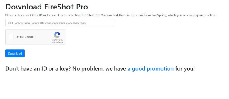 Download Fireshot Pro