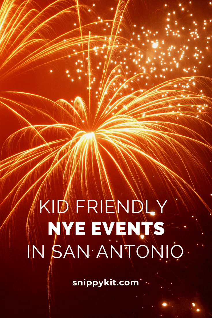 New Year's Eve in San Antonio is an experience like non other. With all the fireworks and celebrations, it is something you must experience in your lifetime. If you'd like to get out with the kids, check out these 5 family friendly New Year's Eve events in San Antonio Texas.