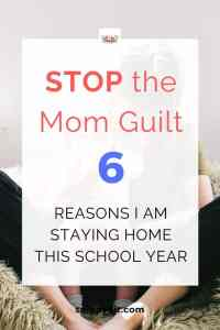 6 Reasons I'm Going to Stay at Home After My Kids Go to School