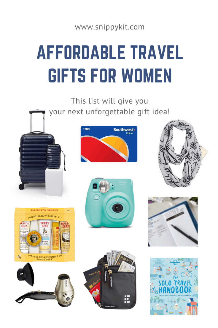 The best gifts for travelers that they'll actually want! Travel tech, practical and fun gifts for every type of traveler on your list. #travelgift #christmasshopping #christmasgift #besttravelitem #bestgiftfortravelers #travel