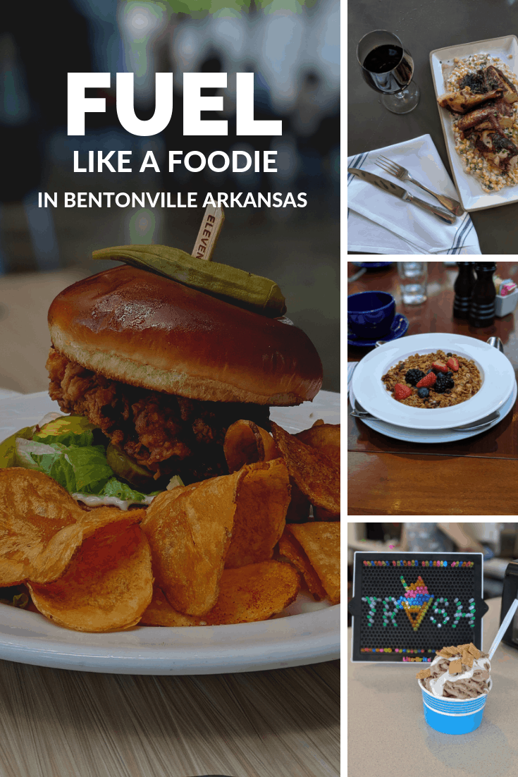 Half the fun of going on vacation is trying all the local restaurants. We found so many great places to eat with amazing family friendly dining that you will love fueling up like a foodie in Bentonville.