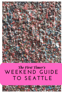 Ultimate Weekend Guide to Seattle