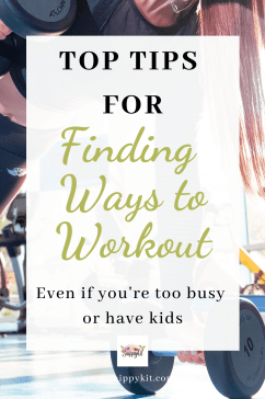 Do you struggle with finding time to exercise as a busy and tired mom? Here's 6 tips to help you find ways to exercise when you're too tired.