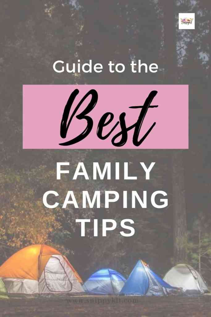 Leave your electronics at home and go family camping. Get the best tips and hacks to have a stress-free experience.