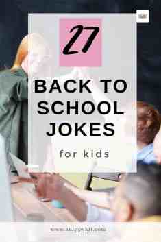 These silly, but funny back to school jokes for kids can break the ice between new friends, or win over the heart of their new teacher.