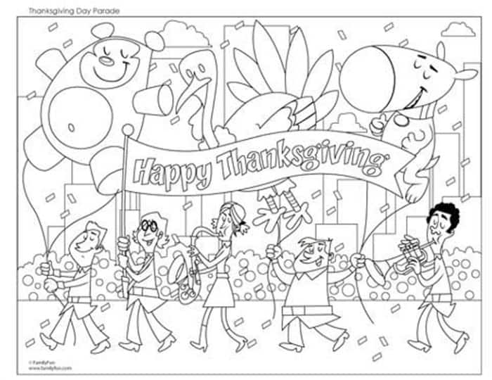 Keep the kids entertained with these 20 FREE Thanksgiving coloring pages for both Kids & toddlers! Just click to print and start coloring!