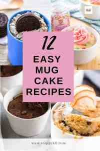 12 Delicious Mug Cake Recipes You Can Make in Minutes