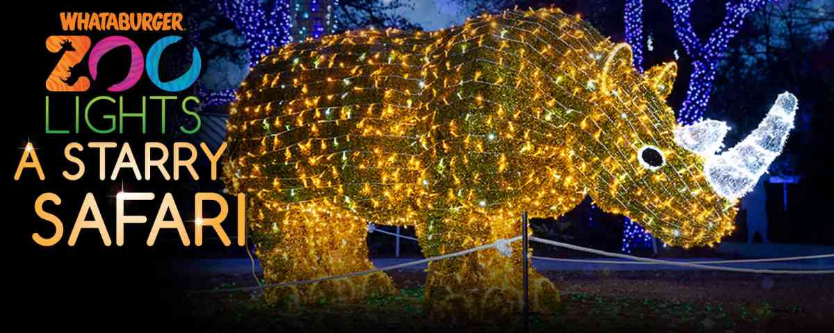 san antonio zoo lights for thanksgiving week