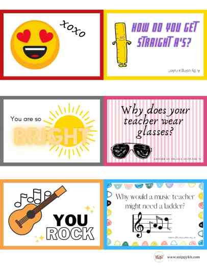 lunch box notes for kids and back to school jokes