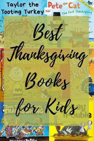 best thanksgiving books for kids