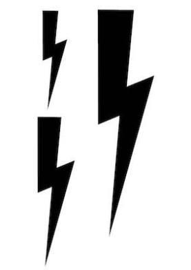 lightning bolt svg file