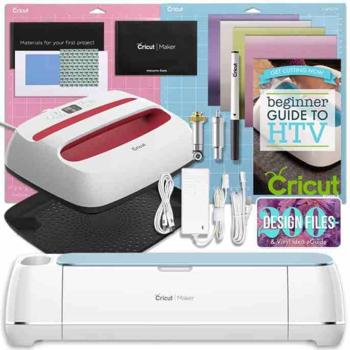 cricut maker and easy press bundle from swing design