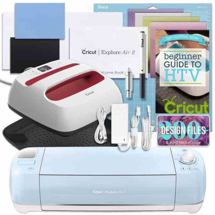 cricut explore air 2 and easy press bundle from Swing Design