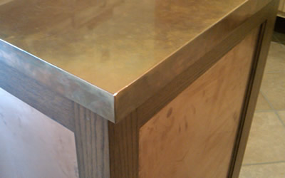 Metals  Countertops Snitz Creek Cabinet Shop