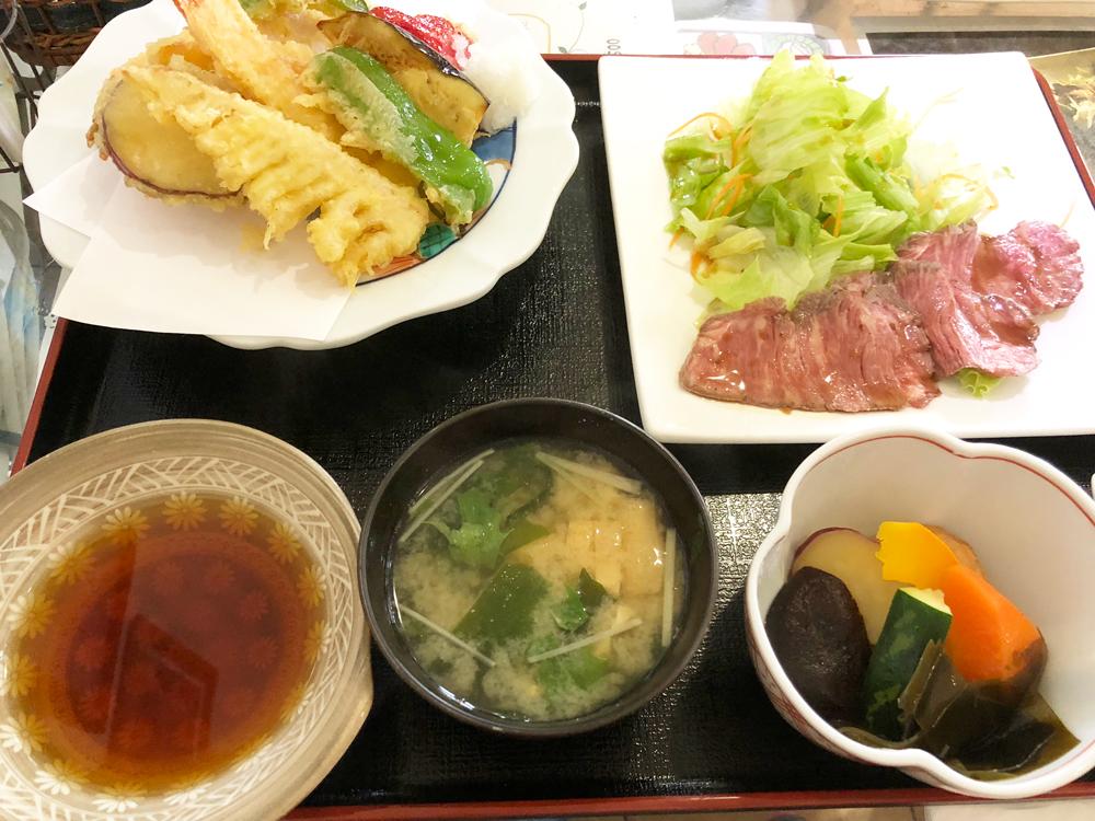 山猫料理店・天ぷら定食