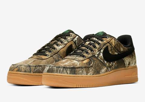 Nike Air Force 1 Realtree Camo Pack – ナイキ エア フォース 1