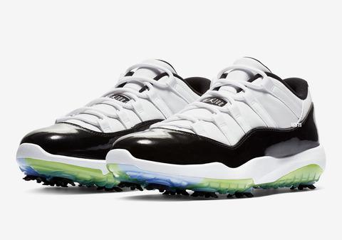 air-jordan-11-xi-concord-white-black-golf-shoe-1