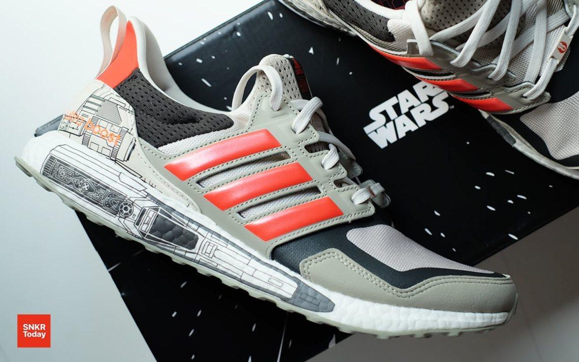 "adidas Ultraboost S&L ""X-Wing"" รองเท้ากองยานรบ Rebel Alliance จาก Star Wars"