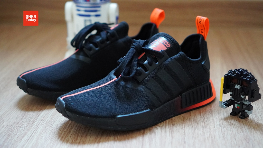 "Star Wars x adidas NMD_R1 ""Darth Vader"""
