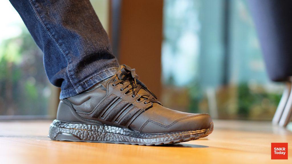 adidas Ultraboost Leather รองเท้าหนังที่มาพร้อมความนุ่มสบายเท้า